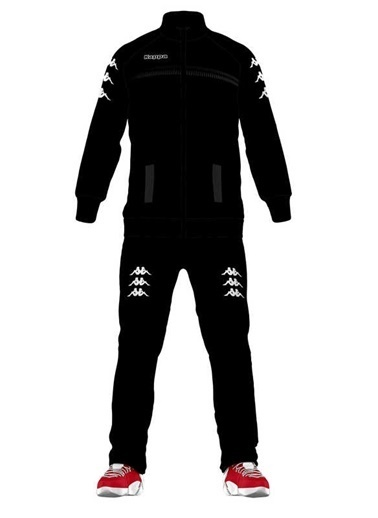 Kappa Eşofman Takım Siyah